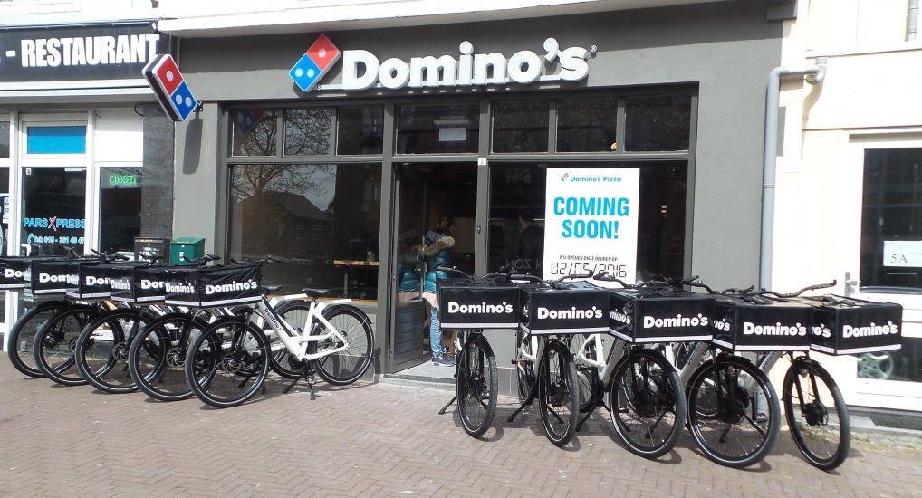 Domino's Pijnacker maandag open.