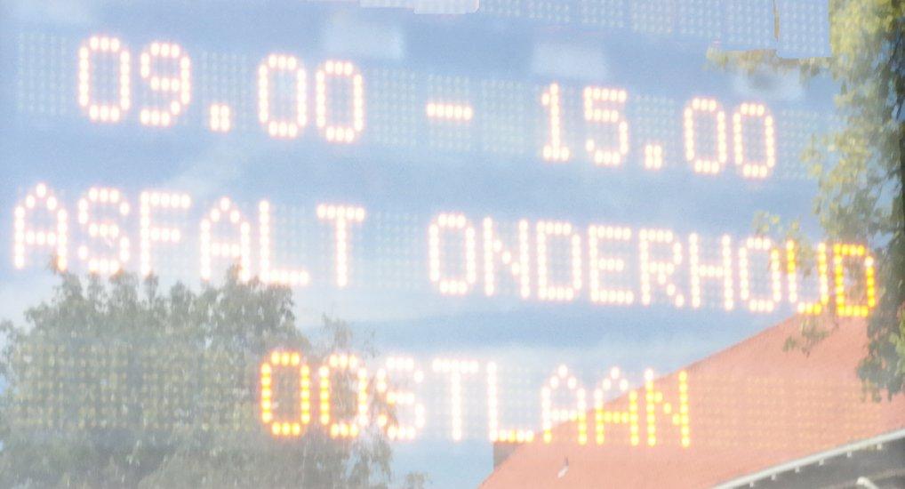 Oostlaan / Westlaan afgesloten voor controle.