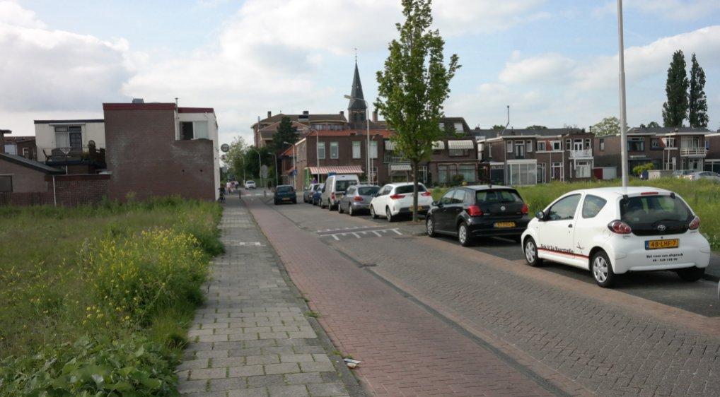 Emmastraat tijdens nieuwbouw afgesloten.