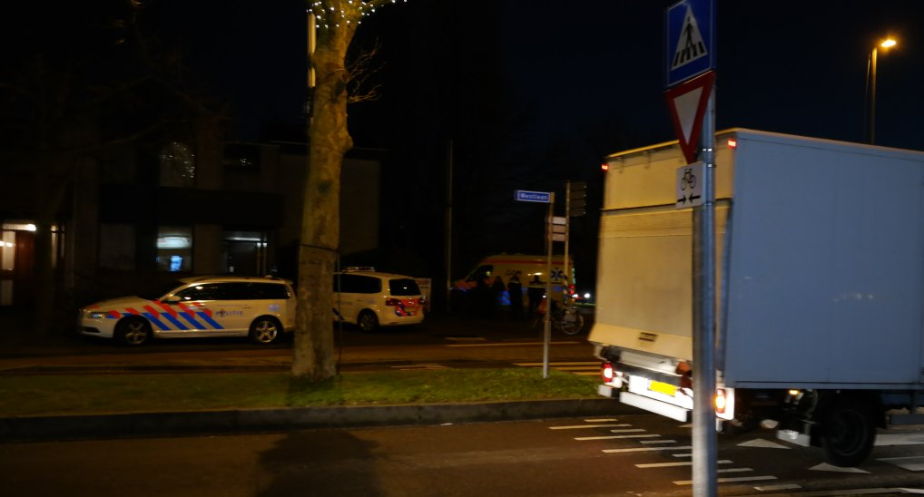 Ongeval rotonde Westlaan/Europalaan.