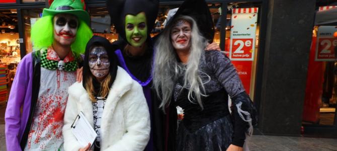 Halloween in winkelcentrum Ackershof.